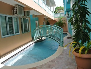 1BR Condo - In The Heart Of Crown Point Tobago. Best Beaches Around The Corner