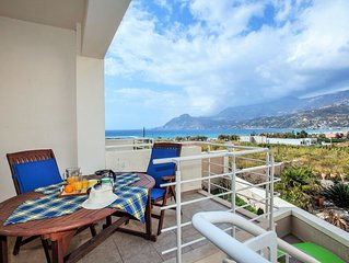 Villa Marcela, a luxurious holiday home, located a few meters from the beach.