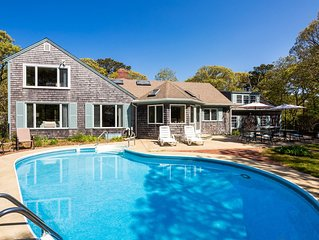 Amazing Location: Nature, Beach and Pool in Chatham