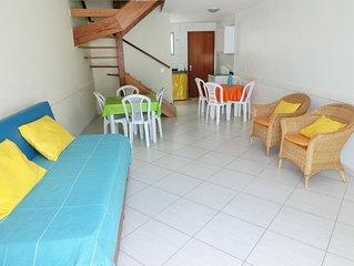 Casa duplex 500 m da praia do Pero em Cabo Frio com WIFI