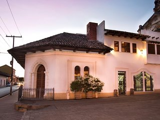 San Miguel Beautiful Colonial Residence Available In The Heart Of Granada