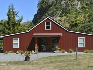 The Red Barn is set in lovely quiet rural setting