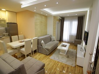 Visit BELGRADE stay in luxury apartment for five persons