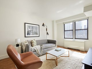 Sonder | The Blake | Chic 1BR + Gym