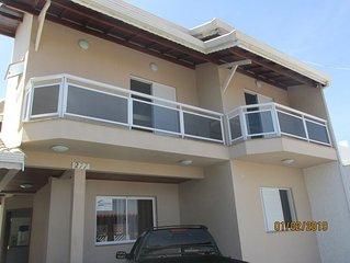 Casa de Temporada C/Piscina 04 Suites - Centro de Peruibe - Praia -