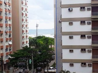 Apto Santos - Gonzaga - 100 metros da praia