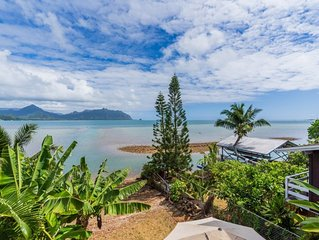 Luxury Oceanfront House in Kaneohe