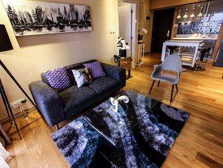 Stylish 1-Bedroom Deluxe * Milano 4008