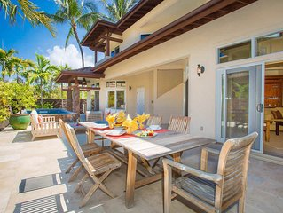 Luxurious Island House-Backyard Pool, Outdoor Shower, private beach access
