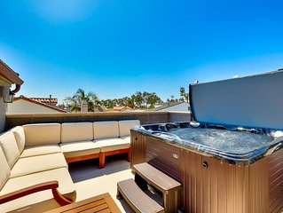25% OFF JAN - Gorgeous Family Home w/ Roof Top Deck, Jacuzzi & A/C