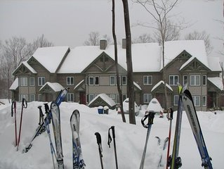Luxury Ski-in/Ski-out Jay Peak Ski Resort Village Condo