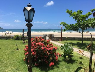 Florianopolis a beira-mar uma das mais belas praias da ilha