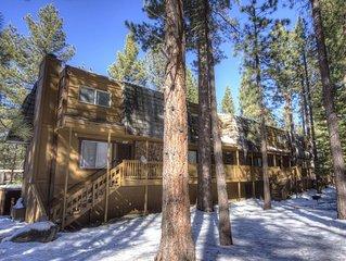 Budget Friendly Forest Condo near Heavenly w/Fireplace Sleeps 6 (HCC0646)