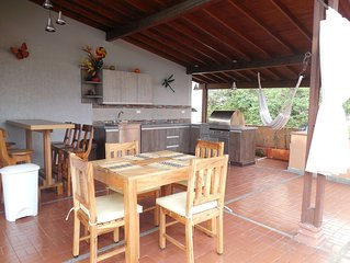 BEST DEAL IN POBLADO!  Beautiful and Spacious Indoor and Outdoor Living Space