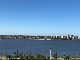 Centrally Located Perth Apt. with Stunning Views & lots of amenities