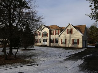 Our 5BDR Pocono house pursue your happiness.
