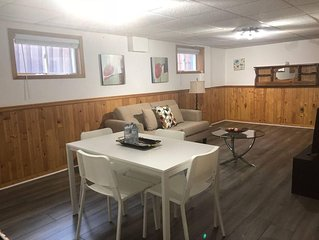 Private, spacious, and cozy basement apartment