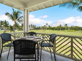 Luxurious resort villa with AC, WiFi, Golf Nearby, Shared Pool at Waikoloa Beach