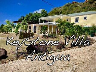 KeyStone Villa, English Harbour Antigua (3 Bedroom)