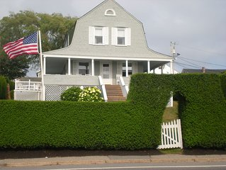 Walk to Beach, Water View 6-Bedroom, Dutch Colonial, Weekly rates available