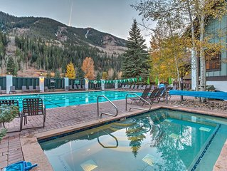 Vail Condo w/ Comm. Hot Tub & Pool +Shuttle to Mtn