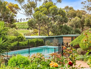 Las Vinas at McLaren Vale, Central and Private on 4 acres