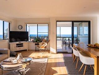 Casa Robinson Kiama for 6-Luxury home,  stunning ocean views, near town & beach