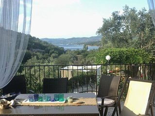 Serene, spacious, sea view dream house in south Pelion