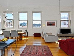 Stunning Inner city warehouse apartment