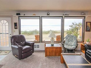 Oceanfront Beauty Next to Beach Access!