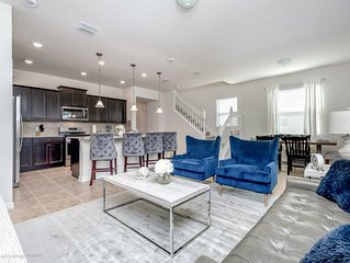 Disney On Budget - Solterra Resort - Beautiful Spacious 5 Beds 5 Baths Townhome