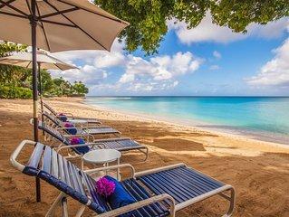 Harmony House - Beautiful Coral Stone Beachfront Villa on Gibbs beach