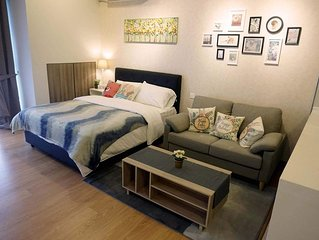 Cozy Studio 2pax  * Country Garden Danga Bay