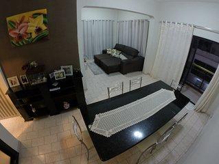 Amplo apto 2 quartos no centro de Guarapari