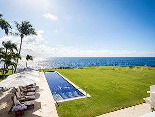 Breathtaking Oceanfront Estate, Cook/Butler, Huge Swimming Pool, AC, Free Wifi
