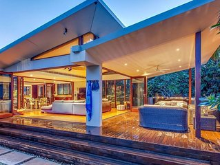 A PERFECT STAY – Pavilion 2 at Broken Head - secluded, beachfront luxury