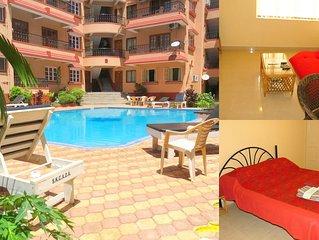 40) Serviced Apartment Calangute/Baga Sleeps 3