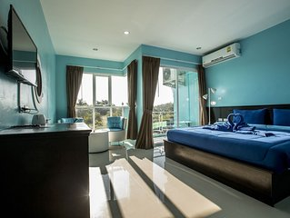 D deluxe double room with balcony