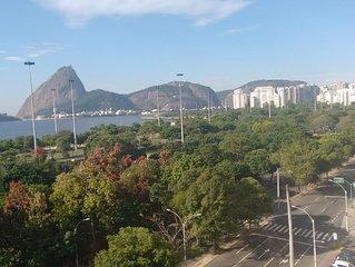 Vista para o mar: conjugado no Flamengo
