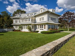 Madison Estate Waterfront with Heated Pool