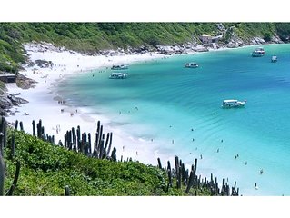 Apto - Arraial do Cabo - ao lado da Praia - até 4 pessoas