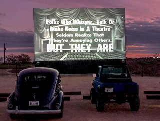 Wizarding World Mini Home at the Drive In Movie Theatre