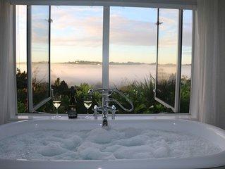 Luxury romantic villa with amazing views.