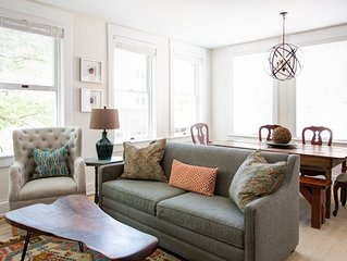 Old Met #202 | Renovated historic apartment overlooking Downtown Mall