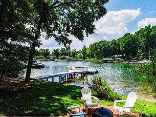 Lake Norman waterfront.  Private dock and beach for swimming/boating/fishing