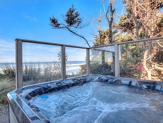 Luxury Oceanfront Home with Hot Tub in South Beach Area of Newport