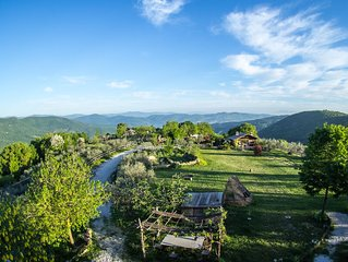 Stand-Alone Two Bedroom Apartment in the Green Heart of Italy