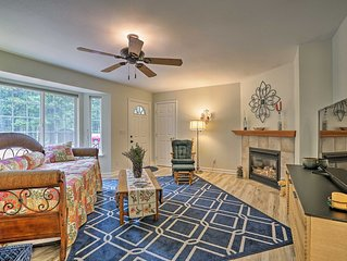 Pollock Pines Apartment w/Private Deck on 5 Acres