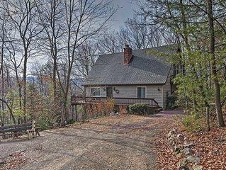 Palmerton Home on 3 Acres- 5 Mi. to Blue Mountain!