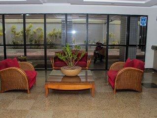 Flat em Petrópolis - Completo, excelente localização e WIFI